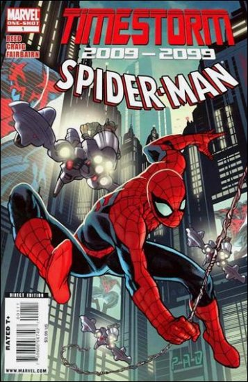 TIMESTORM 2009 - 2099 SPIDER-MAN #1 NM (2009)