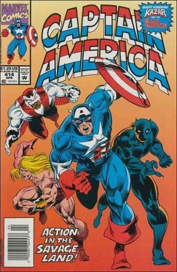 CAPTAIN AMERICA #414 (1968 VOL)