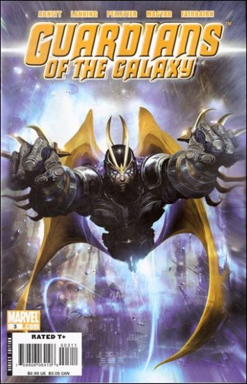 GUARDIANS OF THE GALAXY #3 VF/NM (2008)