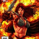 RED SONJA #23 VF/NM PRADO COVER  *DYNAMITE*