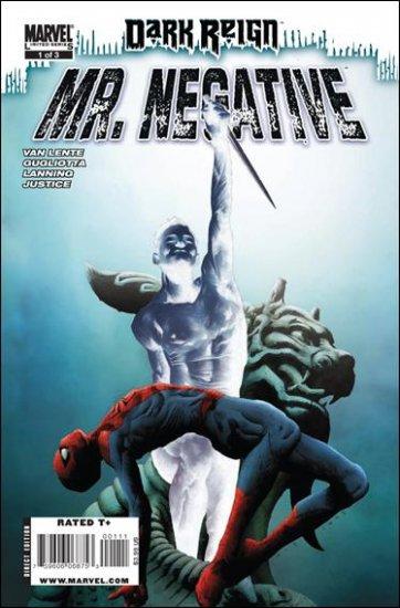 DARK REIGN: MR. NEGATIVE #1 NM (2009)