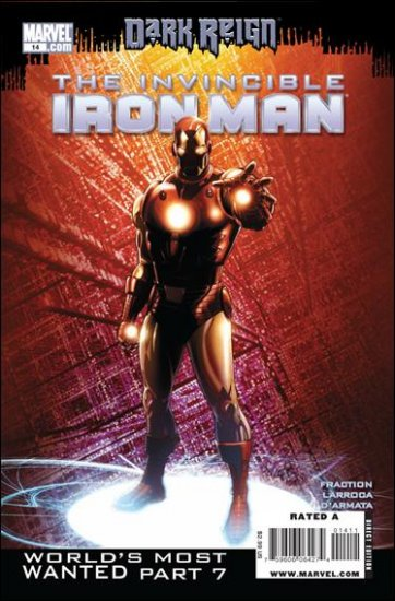 INVINCIBLE IRON MAN #14 NM (2009) *DARK REIGN*
