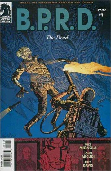 B.P.R.D. THE DEAD #1 NM DARK HORSE COMICS