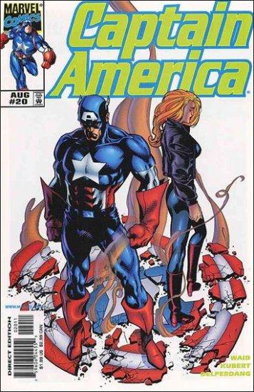 CAPTAIN AMERICA #20 (VOL 3) HEROES RETURN