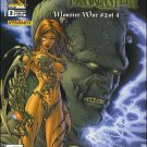 WITCHBLADE VS. FRANKENSTEIN MONSTER WAR #3 A COVER NM