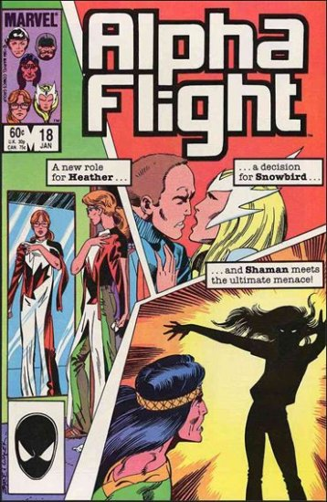 ALPHA FLIGHT VOL 1 #18