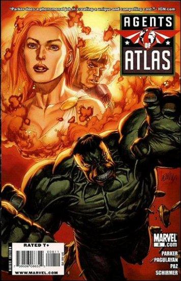 AGENTS OF ATLAS #8 NM (2009)