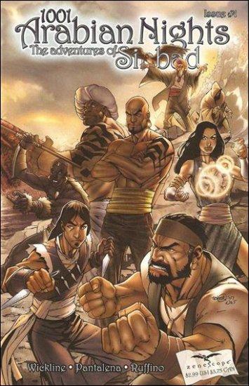 1001 Arabian Nights: The Adventures of Sinbad #1 B Cover [2008] VF/NM  - Zenescope
