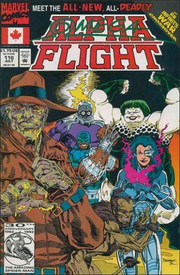 ALPHA FLIGHT VOL 1 #110 VF/NM