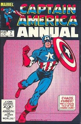 CAPTAIN AMERICA ANNUAL #7