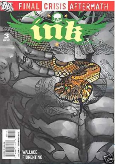 FINAL CRISIS AFTERMATH: INK #3 NM (2009)