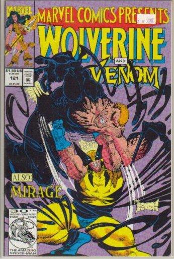 MARVEL COMICS PRESENTS (1988) #121 VF/NM *WOLVERINE VS. VENOM*