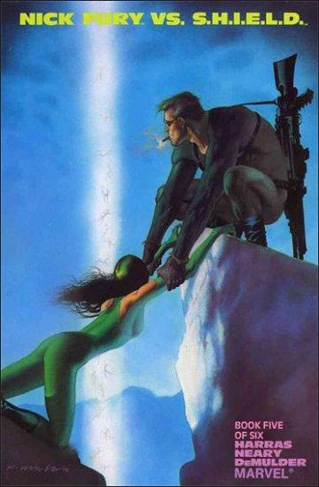 NICK FURY VS. SHIELD #5 VF/NM (1988)