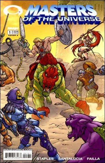 MASTERS OF THE UNIVERSE VOL 1 #1A  NM *IMAGE*