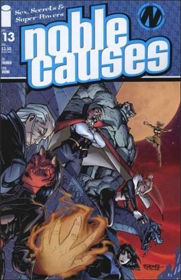 NOBLE CAUSES VOL 2 #13 VF/NM *IMAGE*