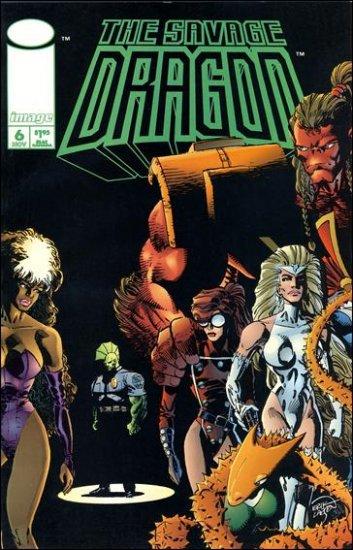 SAVAGE DRAGON VOL 2 #6 VF/NM (1993)
