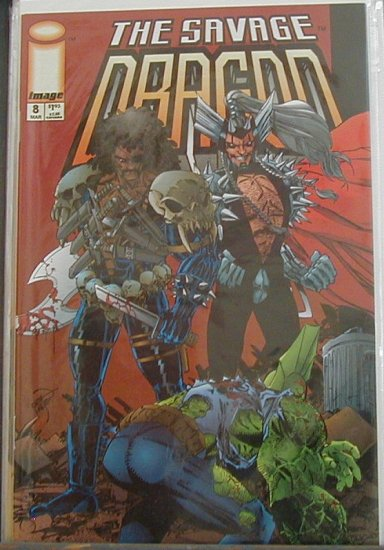 SAVAGE DRAGON VOL 2 #8 VF/NM (1993)