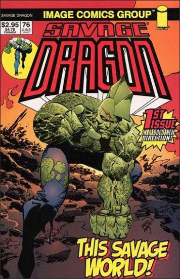 SAVAGE DRAGON VOL 2 #76 VF/NM (1993)