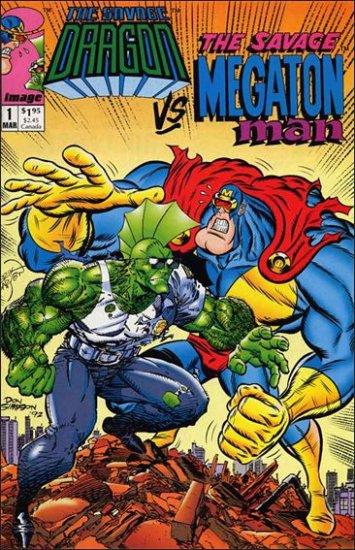 SAVAGE DRAGON VS THE SAVAGE MEGATON MAN #1 VF/NM