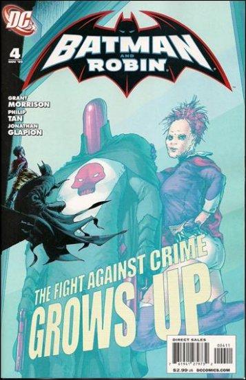 BATMAN AND ROBIN #4 NM (2009) **REBORN**