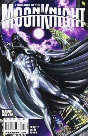 """VENGEANCE OF THE MOON KNIGHT #1 NM (2009) """"B"""" COVER"""