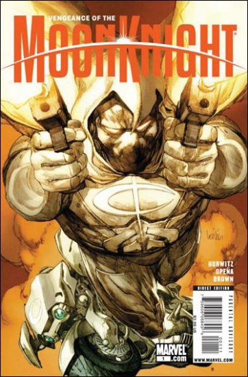 "VENGEANCE OF THE MOON KNIGHT #1 NM (2009) ""A"" COVER"