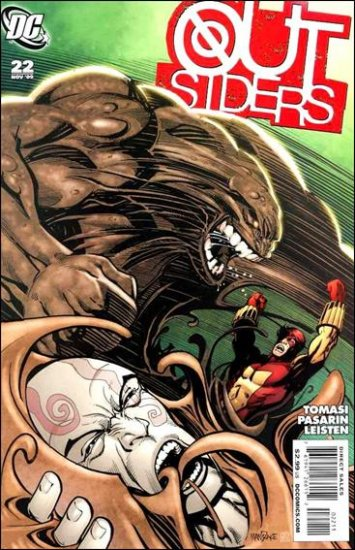 OUTSIDERS #22 NM (2009)