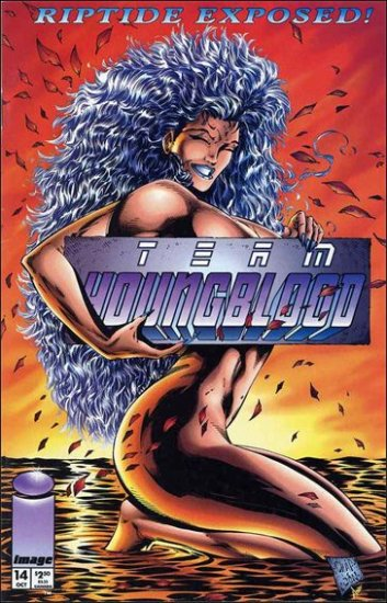 TEAM YOUNGBLOOD #14 VF/NM *IMAGE*