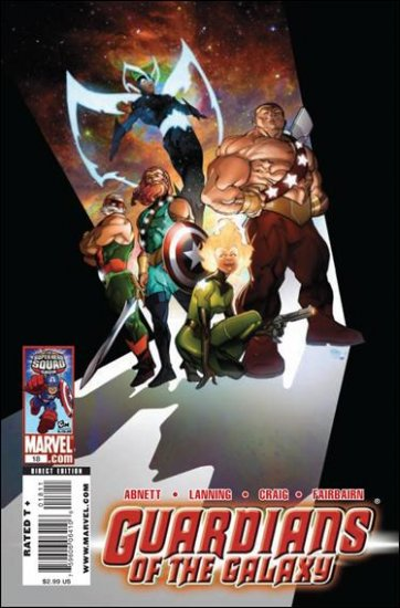 GUARDIANS OF THE GALAXY #18 NM (2009)
