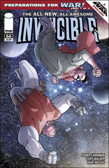 INVINCIBLE #66 NM (2009)