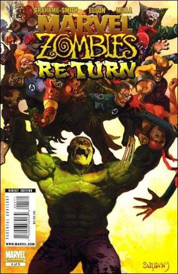 MARVEL ZOMBIES RETURN #4 NM (2009)