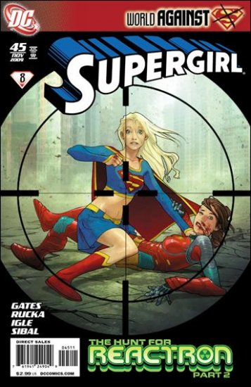 SUPERGIRL #45 NM (2009)