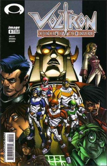 VOLTRON DEFENDER OF THE UNIVERSE #0 VF/NM *IMAGE*