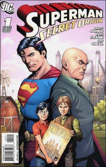 """SUPERMAN SECRET ORIGIN #1 NM (2009)""""VARIANT COVER"""""""