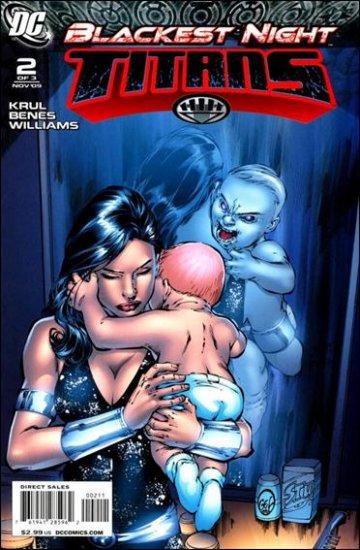 BLACKEST NIGHT TITANS #2 (2009) NM