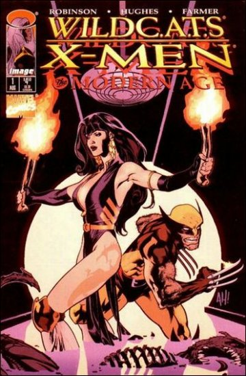 WILDCATS X-MEN THE MODERN AGE #1 VF/NM *IMAGE*