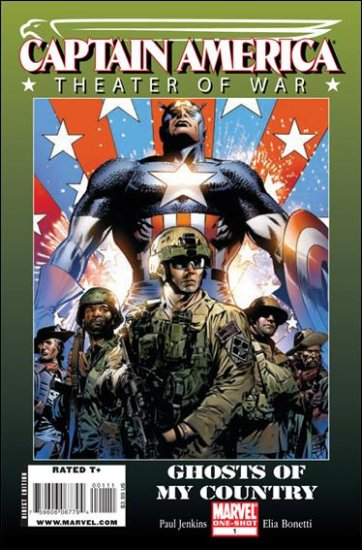 """CAPTAIN AMERICA THEATER OF WAR #1 NM (2009) """"GHOSTS OF MY COUNTRY"""""""