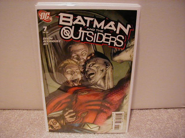 BATMAN AND THE OUTSIDERS #7 NM (2008)