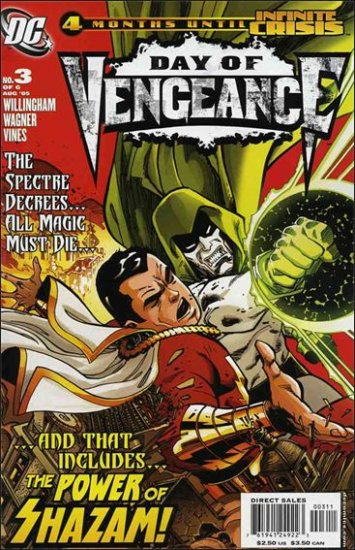 DAY OF VENGEANCE #3 VF/NM