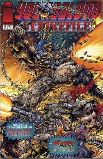 YOUNGBLOOD STRIKEFILE #8 VF/NM *IMAGE*