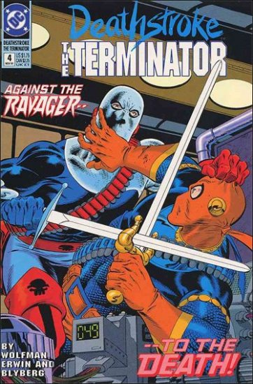 DEATHSTROKE THE TERMINATOR #4 VF/NM