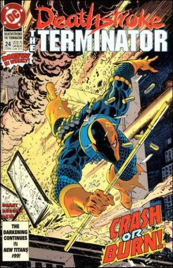 DEATHSTROKE THE TERMINATOR #24 VF/NM