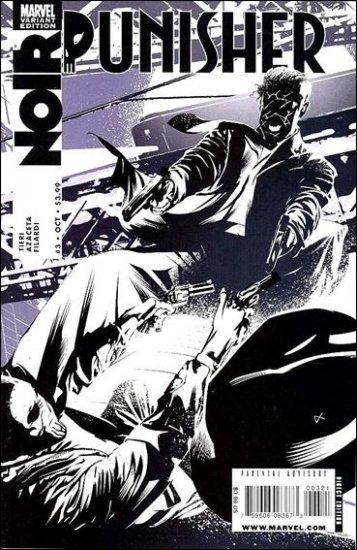PUNISHER NOIR #3 VF/NM (2009) VARIANT COVER