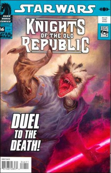 STAR WARS KNIGHTS OF THE OLD REPUBLIC #46 NM (2009)