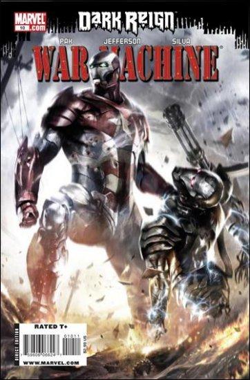 WAR MACHINE #10 NM (2009)