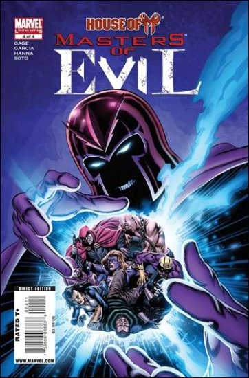 HOUSE OF M: MASTERS OF EVIL #4 NM (2009)