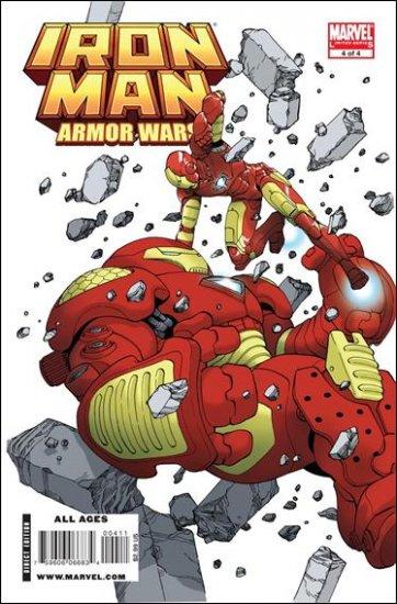 IRON MAN ARMOR WARS #4 NM (2009)
