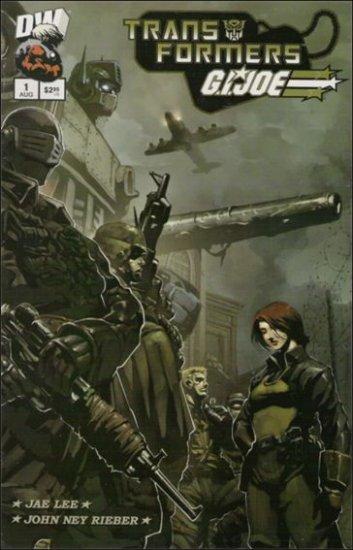 TRANSFORMERS WAR G.I. JOE #1 VF/NM  DW COMICS