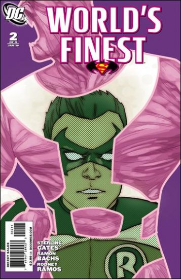 WORLD'S FINEST #2 NM (2010) COVER B