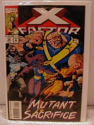 X-FACTOR #94(1985) F/VF